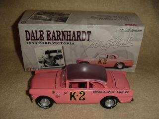 Action Racing Dale Earnhardt K2 1956 Ford Victoria 1 24th Diecast Car