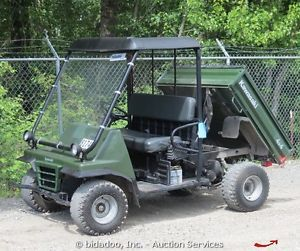 Kawasaki Mule 2510 Gas Powered ATV UTV 4x4 Cart 617cc Engine Bidadoo