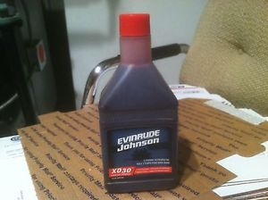 Johnson Evinrude OMC XD30 Outboard Engine Oil Pint 2 Cycle Stroke 764348