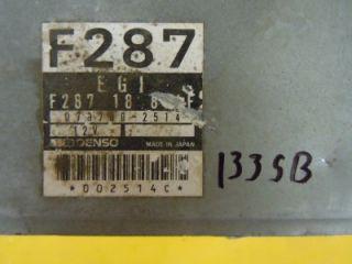 90 91 Mazda 626 MX 6 Engine Computer ECM ECU PCM F28718881F