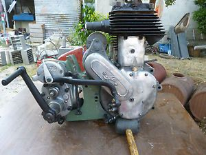 Norton 16H ES2 18 Engine Gearbox Magneto Motor Comblete