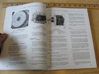 Ford 550 555 Loader Backhoe Service Manual 3 Cylinder 201 Diesel Gas