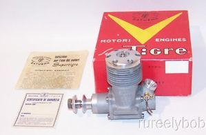 RARE Early New in Box Super Tigre G 24 60 Glow C L Racing Model Airplane Engine