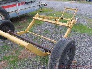 Tumble Bug Round Bale Hay Mover Wagon Carrier Hauler Trailer