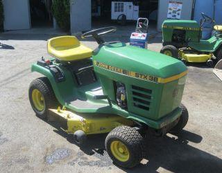 John Deere Lawn Tractor STX38
