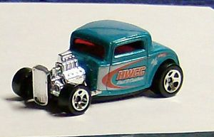 1932 Ford Coupe Hot Wheels Rat Rod Hot Rod Custom