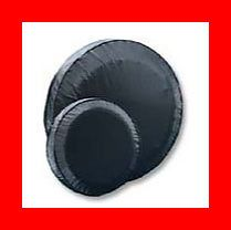 Black Jeep Liberty Spare Tire Cover Wheel Covers New