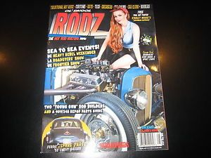 OL'Skool Rodz Magazine 57 May 2014 Rat Rod Hot Rod Pin Up
