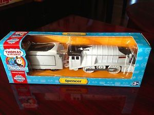 Thomas Tank Engine Train Hit Trackmaster Motorized Spencer Tender New in Box