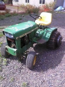 John Deere 140 for Parts Plus Snowblower 49