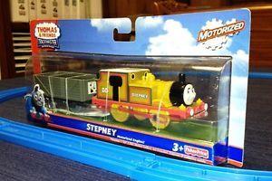 Thomas Friends Tank Train Trackmaster Battery Motorized Stepney with Car