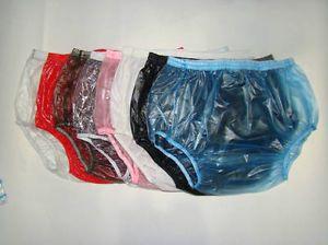3 Pcs Adult Baby Plastic Pants PVC Incontinence P005