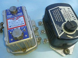 1 Blue Streak 1 Allstate Voltage Regulators Both Positive Ground 6 Volt