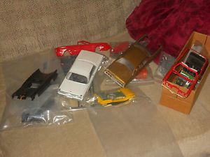 Parts Lot with Bodies Dune Buggy Aroura Batmobile Mics Parts and Wheels