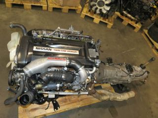 JDM 94 98 Nissan Skyline GTR r33 RB26DETT Engine 5 Speed AWD Transmission ECU