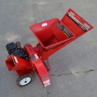 MTD 5HP Wood Chipper Shredder Leaf Briggs Stratton Lawn 242A645 000 1 Pull Start