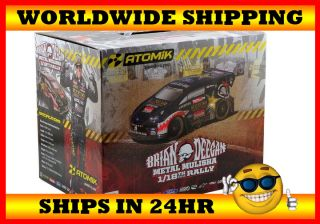 Atomik RC 1 18 Scale Ford Fiesta Rally Car Metal Mulisha Brian Deegan