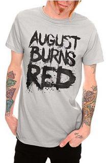 August Burns Red Paint Stroke And Splatter T Shirt