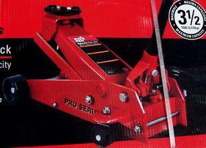 New 3 1 2 Ton 3 5 Garage Big Red Hydraulic Floor Car Lift Jack