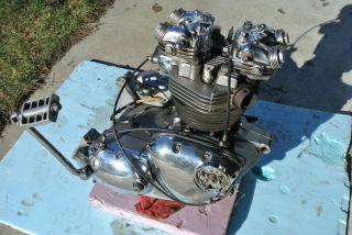 Triumph Bonneville Tiger Trophy 650 Motor Engine