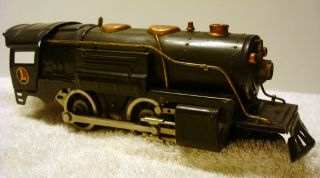 1930's Prewar Lionel Steam Type 259E Locomotive Train Set Track Transformers Car