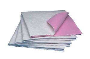 6 Pack New Reusable Incontinence Aid Waterproof Bed Pads 34x36