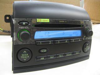 Brand New 2004 2010 Toyota Sienna Le  WMA CD Radio 11826 Unlocked Plug Play