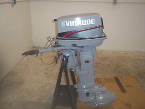 Evinrude 35 HP Boat Motor Jet Drive