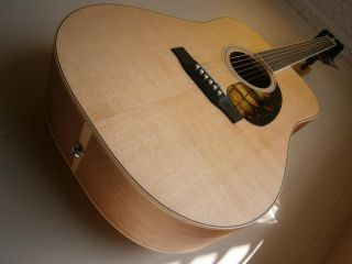 Larrivee D 02 All Solid Woods Limited Edition Acoustic Guitar w Hard Case