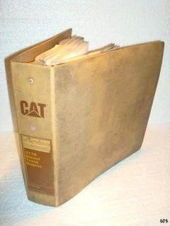 Cat Caterpillar 3176 Diesel Engine Shop Service Manual