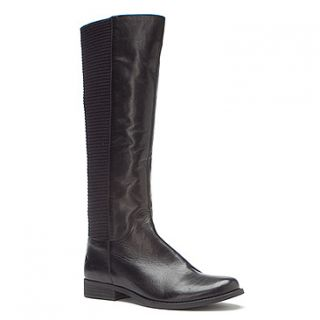 Aetrex Heather Tall Riding Boot  Women's   Black Leather
