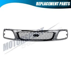 Front Upper Grille Ford 97 98 F150 F250 Expedition Truck