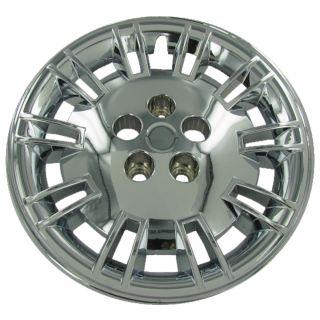 4 PC Set Chrysler 300 Chrome Wheel Hubcaps Covers Rim Skin Caps for Steel Wheels