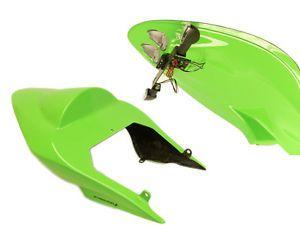 Kawasaki Ninja 250R 2008 12 Stinger Moto GP Style Seat Unit Lime Green 13400C