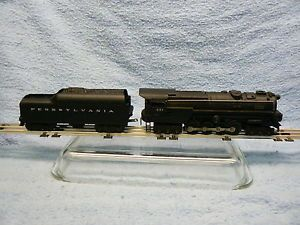 Post War Lionel Penn 681 Steam Turbine Engine Whistle Tender