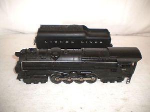 Postwar 1952 Lionel 671 RRR 6 8 6 Steam Turbine Engine w 2046 Whistle Tender