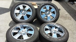 """2008 Ford F150 F 150 Chrome 20"""" Factory Wheels Rims Tires 04 13 Expedition"""