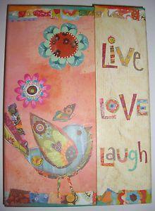 Bird Live Love Laugh Journal Diary from Olika It's A Wonderful World