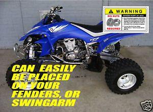 Yamaha Raptor 700 Graphics Kit: Parts & Accessories