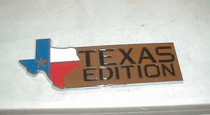New Ford F150 Truck Genuine Ford Parts Texas Edition Badge Tailgate Emblem