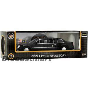 Luxury Diecast 1 43 2009 Cadillac Presidential Limousine Opening Doors Car Black