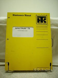 Thermo King Spectrum TS 3 95 Engine Maintenance Manual Engine Wiring Diagrams