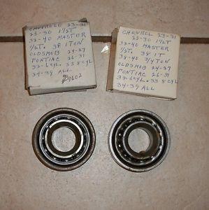 1923 1940 Chevy Pontiac GMC Truck Front Wheel Bearings 39 38 37 36 35 34 33 32