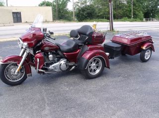 Legacy Motorcycle Trailer Cargo Touring Pull Behind Harley Bikes Triglide