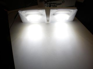 Double LED Cargo Trailer RV camper Dome Interior Light