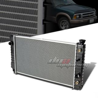 Aluminum Core Bolt on Fit Radiator 88 94 Chevy GMC S10 Jimmy Blazer V6 Auto At