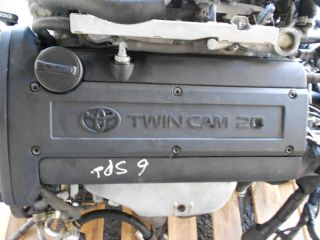 Toyota Corolla Toyota Levin 4AGE Black Top 20 Valve Engine Motor Swap 6 Speed 4A