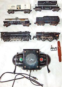 7 Lionel Trains O Gauge 259E Steam Locomotive 681 Engine 2671W Pennsylvania Coal