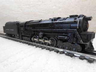 Lionel Trains Diecast Smoking Turbine Steam Train Engine 671 Tender Set