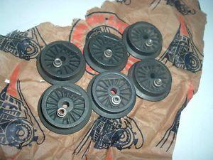 Vintage Lionel 681 24 Postwar Mint Unused 6 Steam Turbine Engine Wheels
